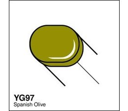 Copic Sketch marker Copic Sketch marker YG97 spanish olive
