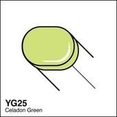 Copic Sketch marker YG25 celadon green