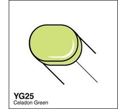 Copic Sketch marker Copic Sketch marker YG25 celadon green