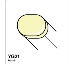 Copic Sketch marker Copic Sketch marker YG21 anise
