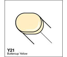 Copic Sketch marker Copic Sketch marker Y21 buttercup yellow