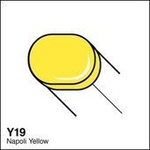 Copic Sketch marker Y19 napoli yellow