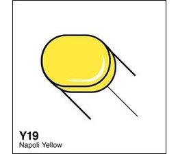 Copic Sketch marker Copic Sketch marker Y19 napoli yellow