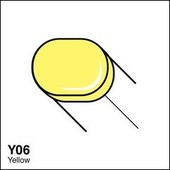 Copic Sketch marker Y06 yellow
