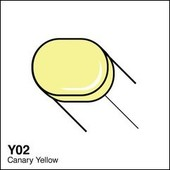 Copic Sketch marker Y02 canary yellow