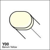 Copic Sketch marker Y00 barium yellow
