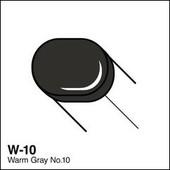 Copic Sketch marker W10 warm gray 10