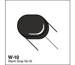 Copic Sketch marker Copic Sketch marker W10 warm gray 10