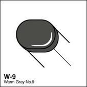Copic Sketch marker W09 warm gray 9