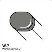 Copic Sketch marker W07 warm gray 7