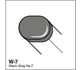 Copic Sketch marker Copic Sketch marker W07 warm gray 7