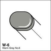 Copic Sketch marker W06 warm gray 6