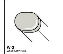 Copic Sketch marker Copic Sketch marker W03 warm gray 3