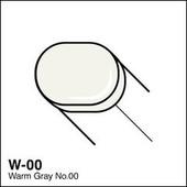 Copic Sketch marker W00 warm gray 00