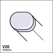 Copic Sketch marker V20 wisteria