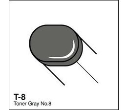 Copic Sketch marker Copic Sketch marker T08 toner gray 8