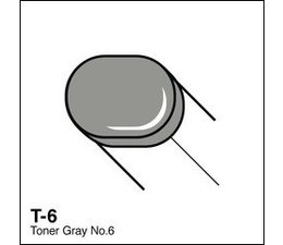 Copic Sketch marker Copic Sketch marker T06 toner gray 6