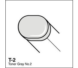 Copic Sketch marker Copic Sketch marker T02 toner gray 2