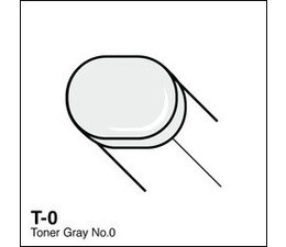Copic Sketch marker Copic Sketch marker T00 toner gray 0
