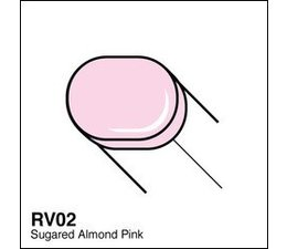 Copic Sketch marker Copic Sketch marker RV02 sugared almond pink
