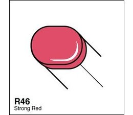 Copic Sketch marker Copic Sketch marker R46 strong red