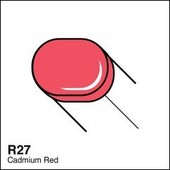 Copic Sketch marker R27 cadmium red