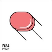 Copic Sketch marker R24 prawn