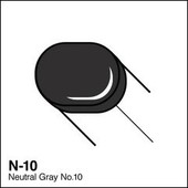 Copic Sketch marker N10 neutral gray 10