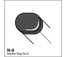 Copic Sketch marker Copic Sketch marker N09 neutral gray 9