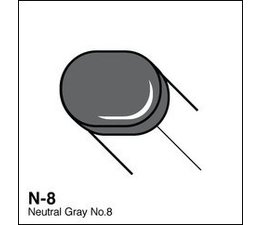 Copic Sketch marker Copic Sketch marker N08 neutral gray 8