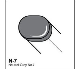 Copic Sketch marker Copic Sketch marker N07 neutral gray 7