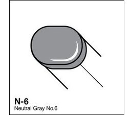 Copic Sketch marker Copic Sketch marker N06 neutral gray 6
