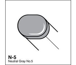 Copic Sketch marker Copic Sketch marker N05 neutral gray 5