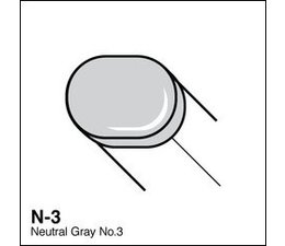 Copic Sketch marker Copic Sketch marker N03 neutral gray 3