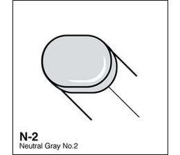 Copic Sketch marker Copic Sketch marker N02 neutral gray 2