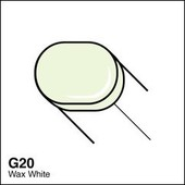 Copic Sketch marker G20 wax white