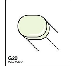 Copic Sketch marker Copic Sketch marker G20 wax white