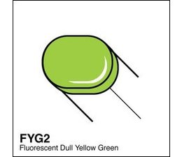 Copic Sketch marker Copic Sketch marker FYG2 fluorescent dull yellow green