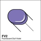 Copic Sketch marker FV2 fluorescent dull violet