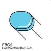 Copic Sketch marker FBG2 fluorescent dull blue green