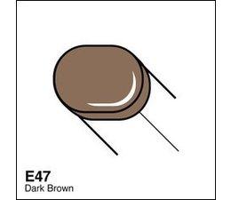 Copic Sketch marker Copic Sketch marker E47 dark brown