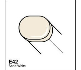 Copic Sketch marker Copic Sketch marker E42 sand white