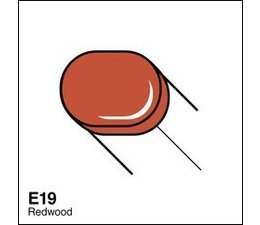 Copic Sketch marker Copic Sketch marker E19 redwood