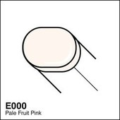 Copic Sketch marker E000 pale fruit pink