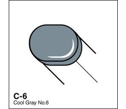 Copic Sketch marker Copic Sketch marker C06 cool gray 6