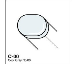 Copic Sketch marker Copic Sketch marker C00 cool gray 00