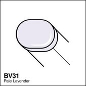 Copic Sketch marker BV31 pale lavender