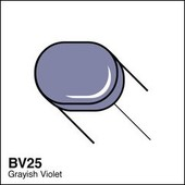 Copic Sketch marker BV25 grayish violet