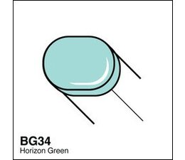 Copic Sketch marker Copic Sketch marker BG34 horizon green
