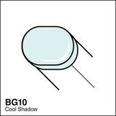 Copic Sketch marker BG10 cool shadow